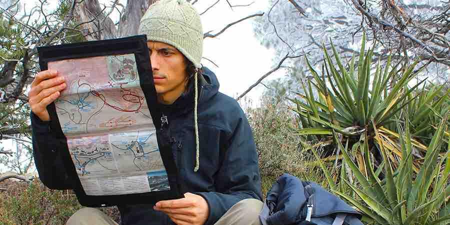 Fundas para mapas de viaje. cicloturismo. viajes con moto, bolsa estanca Amazon, bolsos impermeables, funda documentación moto