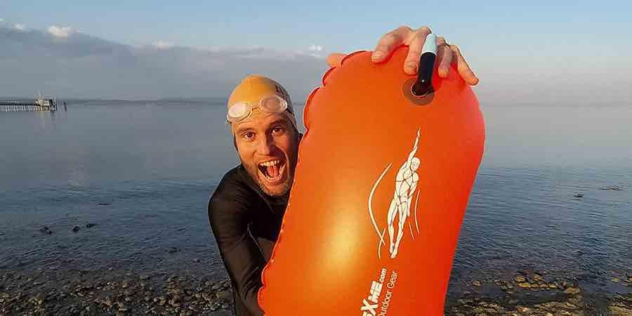 boya natacion aguas abiertas decathlon