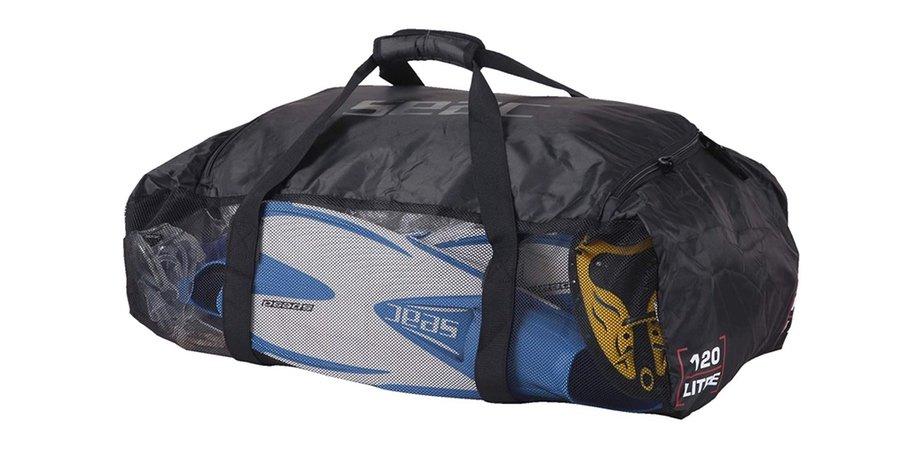 Bolsa de red plegable y ultraligera para equipos de buceo, bolsas estanca buceo, bolsa buceo